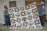 The original Pennsylvania Dutch Bridal Quilt