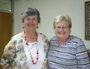 Ronaug Bull and Marsha Yahl