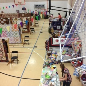 A view toward the vendors.
