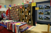 Veterans Quilt Display