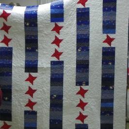 Rose Marie Smith's Veterans Quilt.