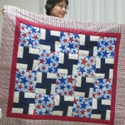 Great veteran's Quilt by Susan Guffey.