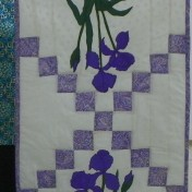 Meredith Willcox shared her Iris Table runner.