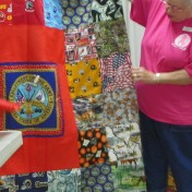 Veteran's quilt made by Kathy and Stan East.