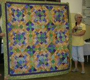 """(Show & Share) """"Easy Street""""--BH Mystery quilt"""