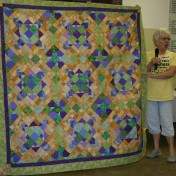 "(Show & Share) ""Easy Street""--BH Mystery quilt"