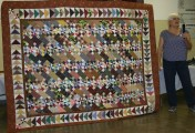 """(Show & Share) """"Old Tobacco Road"""" made by Rose Marie Smith--BH Mystery quilt"""