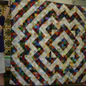 "(Show & Share) ""Split 9-Patch"" by Karen--2013 BH LeaderEnder challenge"