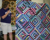 "(Show & Share) ""Scrappy Trips"" made by Karen--BH free pattern"