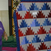 """(Show & Share) """"Scrappy Mountains"""" made by Peggy Clark--BH free pattern"""