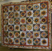 (Trunk Show, quilt made by Bonnie)