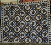 """(Trunk Show, quilt made by Bonnie) """"Smith Mountain Morning"""""""