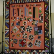 (Quilt made by Bonnie)
