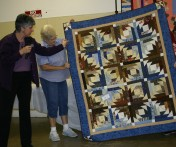 """(Show & Share), """"Pineapple Blossom"""", made by Cathy Poyner."""