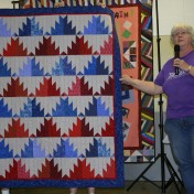 """(Show & Share) """"Scrappy Mountains"""", made by Peggy Clark"""