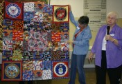 (Show & Share) Veterans quilt made by Kathy East.
