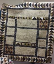 Diane Jarvis' fabulous quilt!