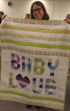 Erin Northcutt shares her darling baby quilt.