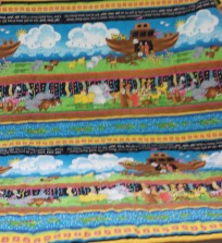 Love the colors in Meredith's Noah's Ark quilt.