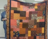 Rose Marie Smith quilt is so fall-like!