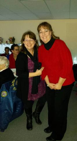 Barb Bevell and Alice Allinson.