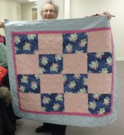 Meredith has been busy making quilts for Project Linus.