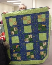 Project Linus quilt #4 from Meredith.