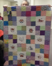 Another colorful quilt by Meredith for Project Linus!