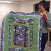And check out this cute Project Linus quilt Liz made!