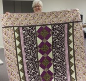 Lovely quilt made by Rose Marie Smith.