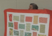 Ellen Farnsworth made this cute quilt for Project Linus.
