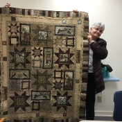 Kathy Krog shares her gorgeous star quilt!