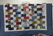 And a great scrappy quilt by Peggy.