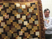 Kay Beach shares this lovely quilt.