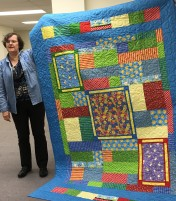 Another pretty quilt by Susan.
