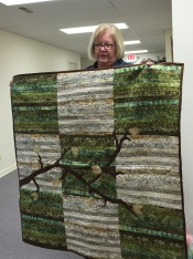 Brenda Moore's quilt is beautiful!