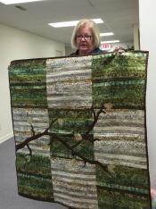 Brenda Moore's quilt is beautiful!