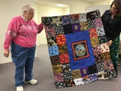 Kathy East shares another pretty veteran's quilt.
