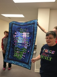 "Kay Beach shares her beautiful ""Shattered Images"" quilt."