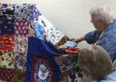 Kathy East shares the stories behind her fabulous Veteran's quilts.