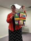 Love this bag made by Andrea!