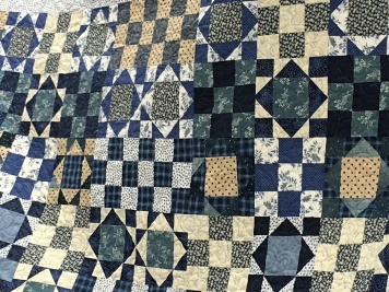 Mary Shoaf's lovely quilt.