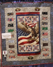 3rd: Di Zook (Dan Day's Quilt of Valor)