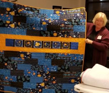 Brenda Moore - quilt for her grandson