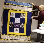 Brenda Moore - memory quilt for her dad