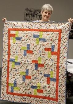 Diane Bloskovich - baby quilt